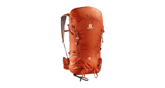 Salomon X Alp 30 Backpack Solar Orange/Tomato Red